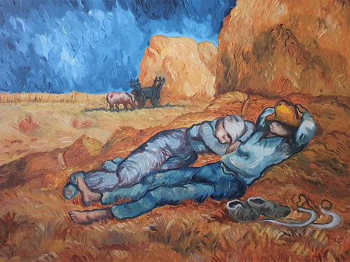 The Siesta (after Millet) - Sipariş