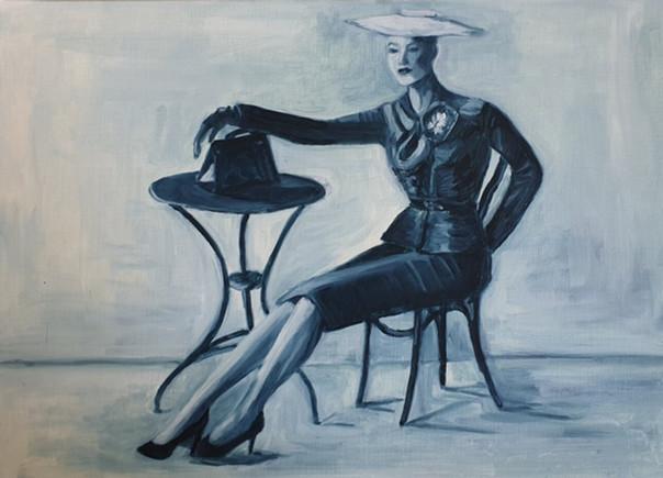 Oturan Kadın