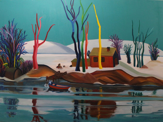 Göl Evinde Kış