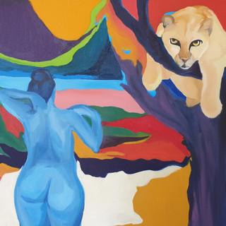 Aslan ve Mavi Kız