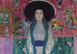 Portrait Of Adele Bloch Bauer 2 - Klimt Tablosu