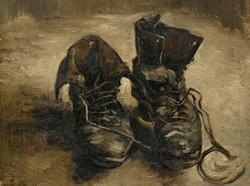 Shoes - Van Gogh Tablosu