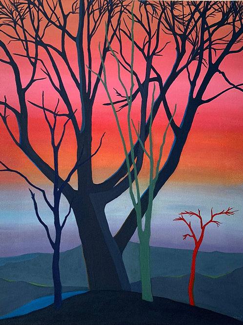 Akşamın Ağaçları