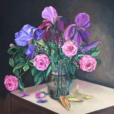 Vazoda Çiçekler