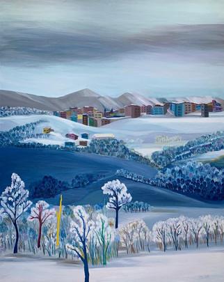 Hanyanı Köyünde Kış
