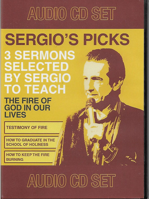 Sergio's Picks - 3 Sermons on CD
