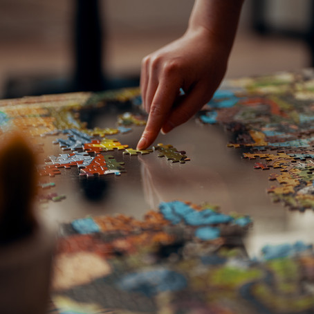 How long does a jigsaw puzzle take to complete?