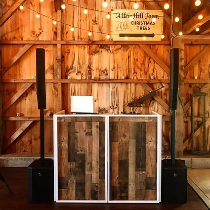 Excited to debut my new barn style dj bo