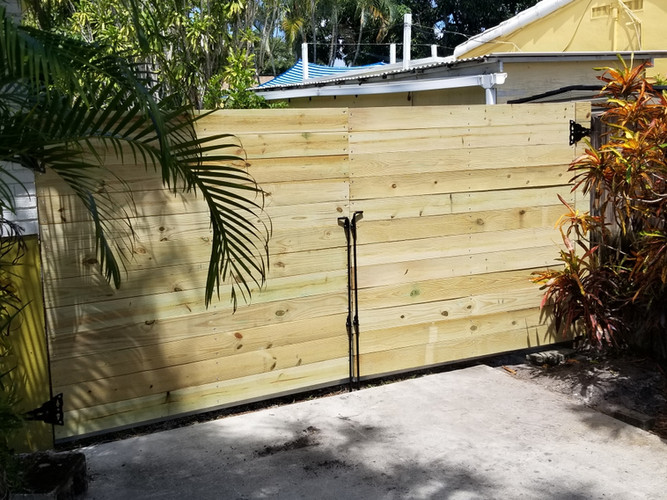 6' Double Horizontal Gates