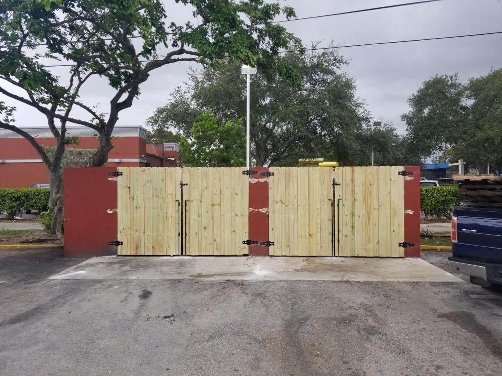 Dumpster Doors
