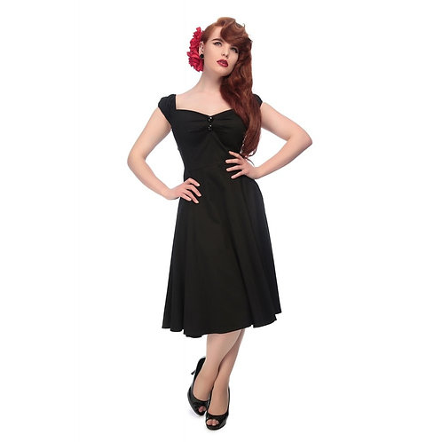 Colectiff Dolores Doll Dress in Black