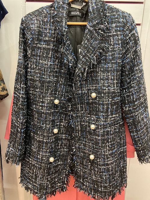 Reno and Pelle Janner Jacket in Blue