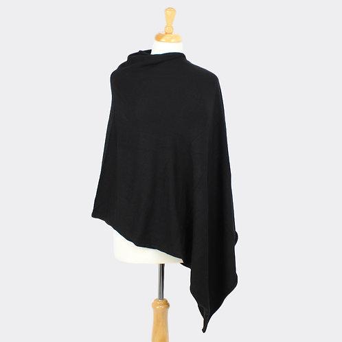 Tilley poncho in Black