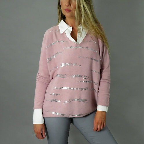 A Beautiful DECK by Decolage Sweater.