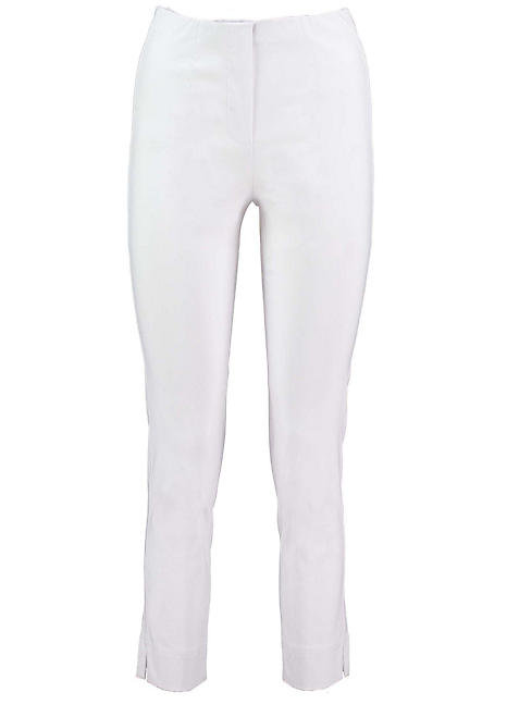 Pomodoro Crop Bengalin Trousers in White
