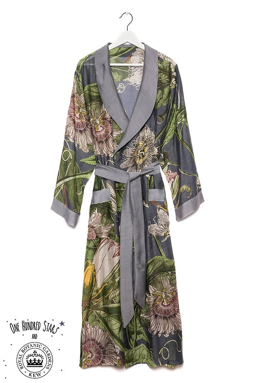 KEW  Passion Flower Gown in Grey