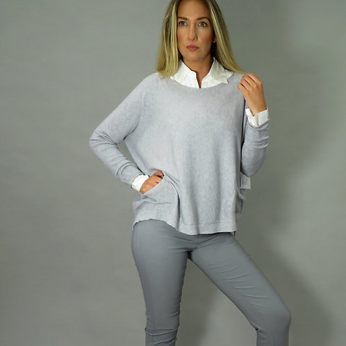 Deck Grey Jumper