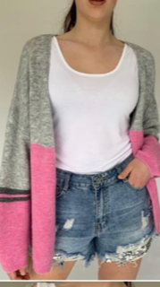 N and Willow Combo Cardi