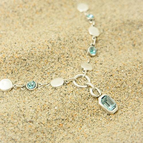 TREATY Aurora Blue Necklace