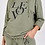 Thumbnail: Love Print Long Sleeve Lounge Suit in Khaki