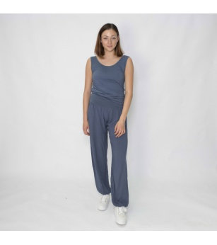 N and Willow Plain Slouchies in Grey