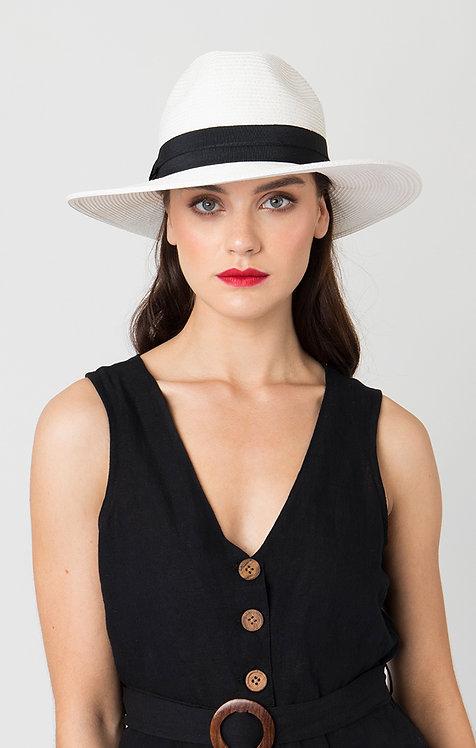 Tobago Hat in White