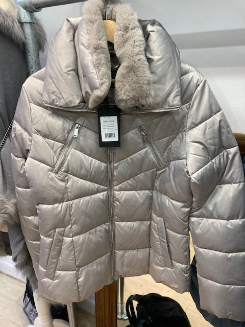 Reno and Pelle Silver colour jacket