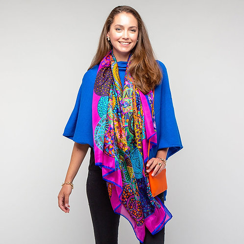 Tilley Poncho in Royal Blue