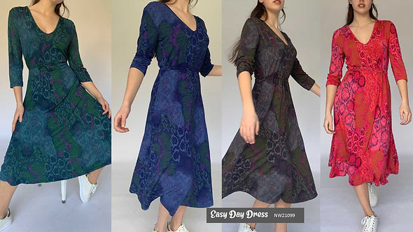 N and Willow Easy Dress