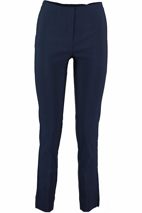 Pomodoro Stretch Bengalin Trousers in Navy Blue