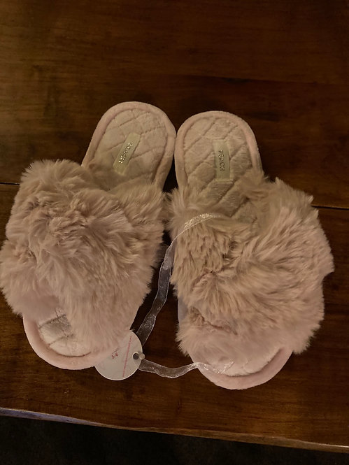 Suzyc Slippers Pink Fluffy