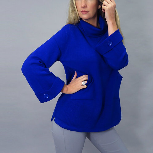 Deck by Decolage sweater in Royal Blue size 10 -16