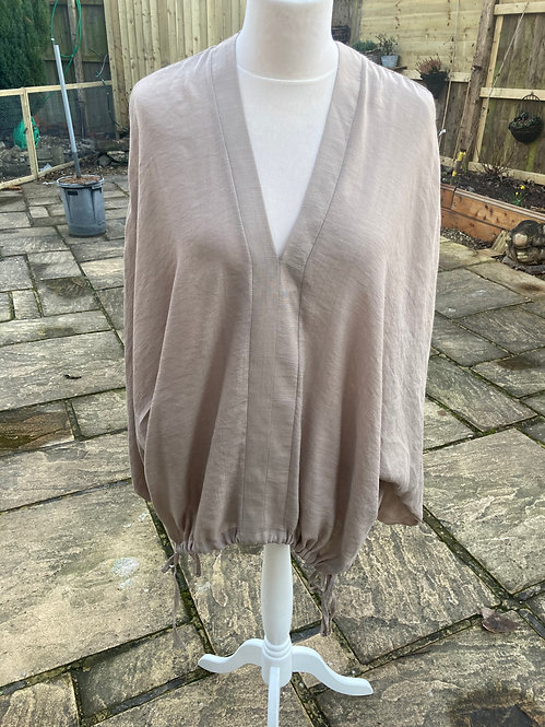 Moutaki One Size Blouse with Tie