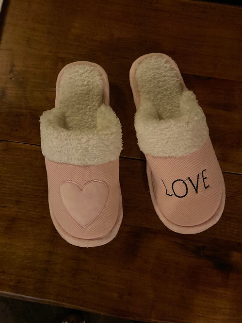 A Beautiful Pair of Pink Slippers