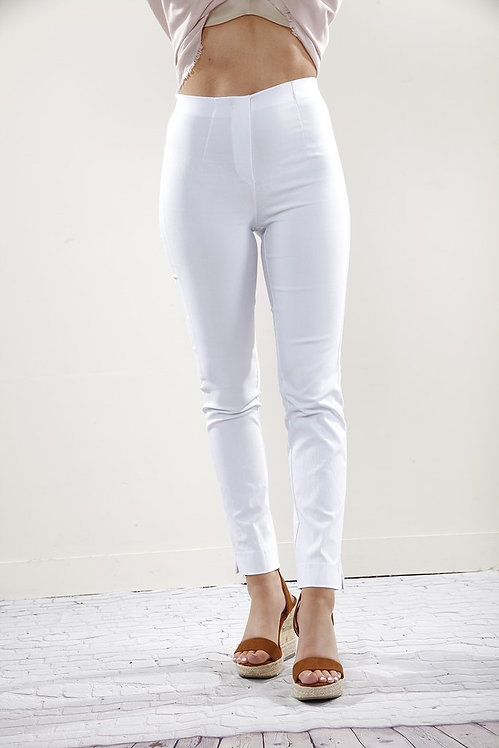 Super Slimming Trousers in White