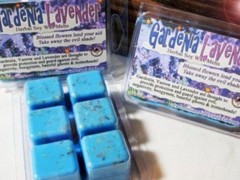 Protection Gardenia Lavender Wax Melts