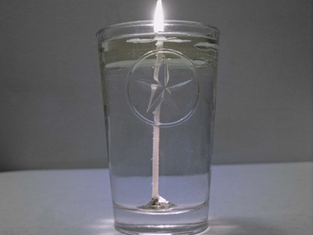 Water Wick & Oil — How To Make Your Own Braucherei Spirit Candle from Blessed Water and Co
