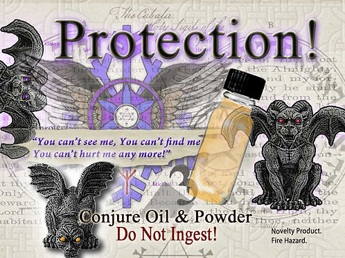 Family Protection Conjure Oil