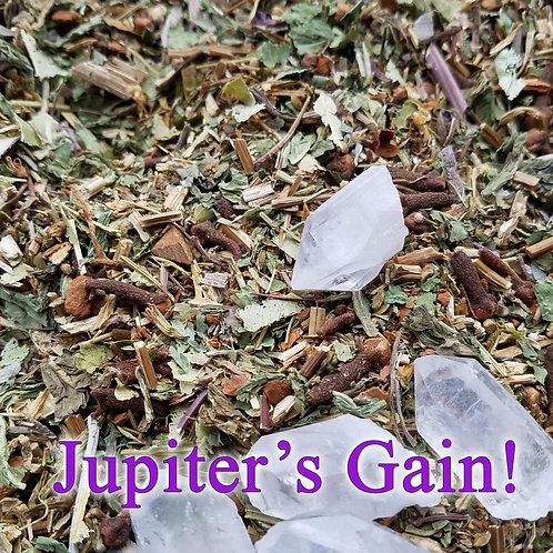 Jupiter's Gain Prosperity Herbal Mix