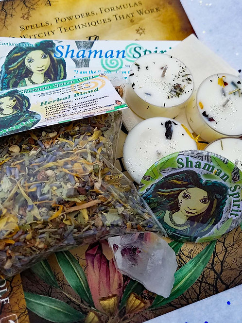 Shaman Spirit Candle Herb Kit