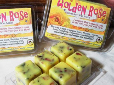 Golden Rose Emotional Healing Wax Melts