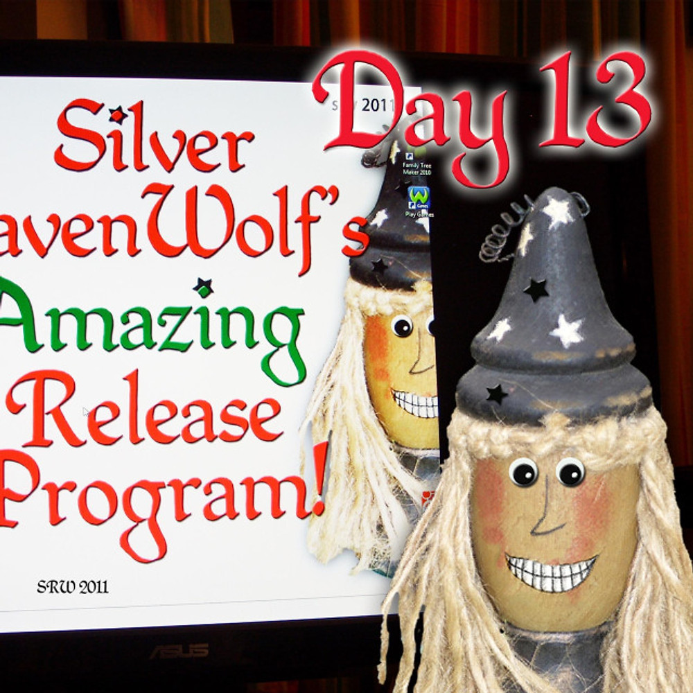 Day Thirteen of Silver RavenWolf's Great Release Challenge