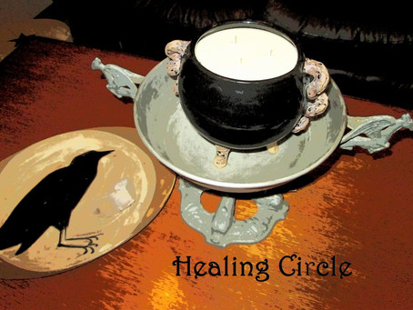Silver RavenWolf presents Healing Circle 15 May 2014 #healingmagick