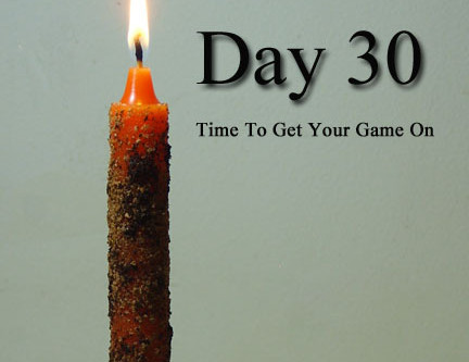 Day 30! The Volcano Cauldron Candle Spell!  We're Gonna Finish With A Bang!