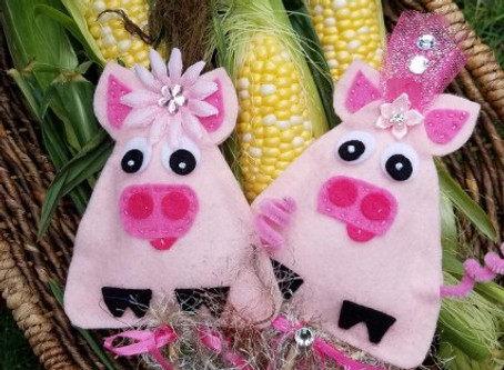 How to make Abundance Piggy Free Pattern