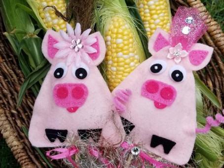 How to make Abundance Piggy Free Pattern