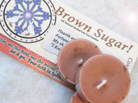 Brown Sugar Soy Tea Candles