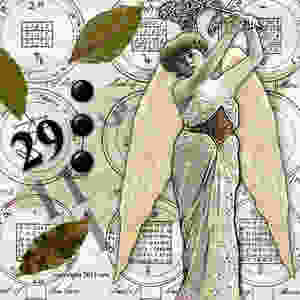 The Angel of Wishes -- loves to read your words written on bay leaves -- her favorite herb.  Today is a Master Day - with the number 29 factoring to 11.  Be sure to say your wishes at least three times and remember that...everything?  Is One.