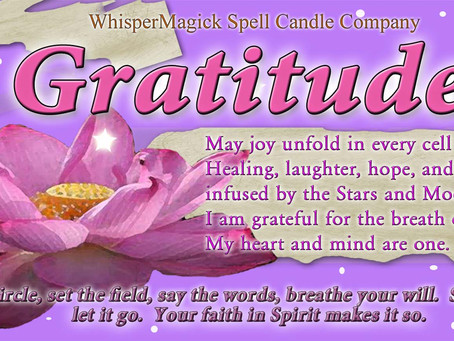 Day 29 - Mini Release Program -- Outdoor Gratitude Ritual