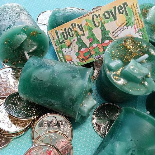 Lucky Clover Good Fortune Votives 3